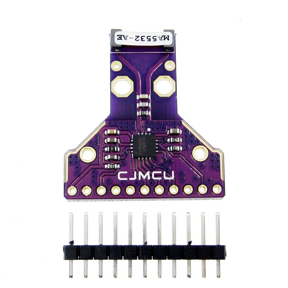 AS3935 Sensor Breakout Board SPI I2C Interface Strikes Thunder Rainstorm Storm Distance Detection 2.4V-5.5V Antenna