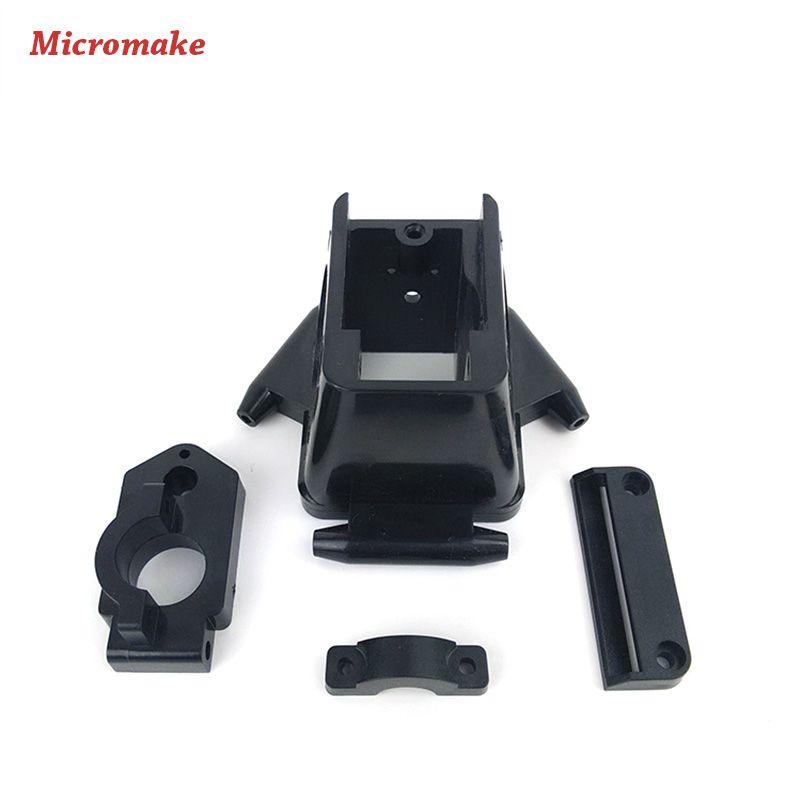 Micromake Kossel Frame Delta 3D Printer Plastic Injection Parts Effector Parts DIY 3D Printer Parts