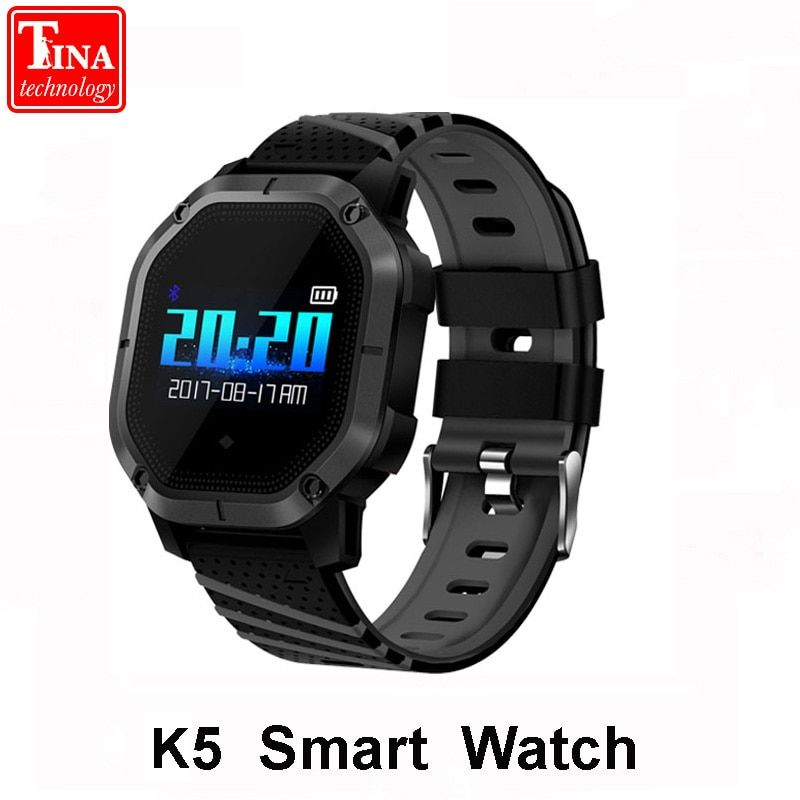 Original K5 Smart watch Multiple Sports Modes Swimming IP68 Waterproof Heart Rate Monitor Blood Oxygen Clock K5 Smart Bracelet