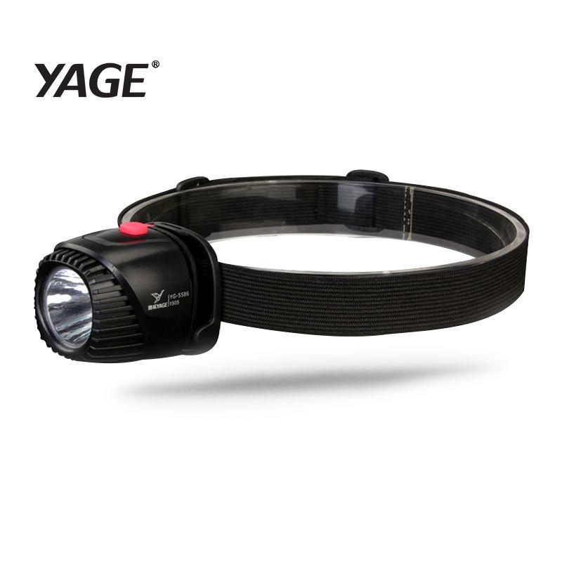 YAGE LED projecteur phare de pêche Étanche Tête de La Torche lampe de poche lampe Frontale Rechargeable Batterie Mini LED De Vélo Head Light