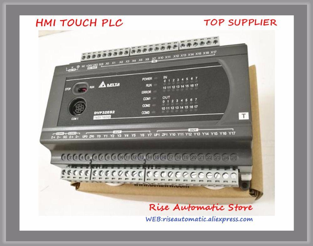 Serie PLC Modul DI 16 TUN 16 Transistor DVP32ES200RC DVP32ES200TC 100-240VAC