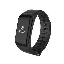 F1 Blood Pressure Smart Band 0.66 OLED Screen Digital Pulse Oximeter Heart rate Monitor Sleep Monitor Sports Wristband PK fitbit