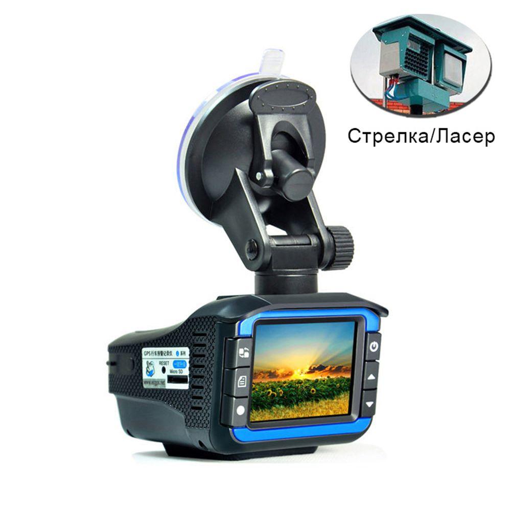 Best 2 In 1 Anti Laser Car <font><b>Radar</b></font> Detector G-sensor DVR Camera Recorder 140 Degree Lens HD 720P Russian&English Version CY960-CN