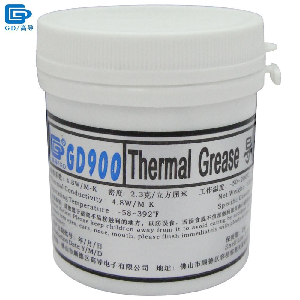 GD900 <font><b>Thermal</b></font> Conductive Grease Paste Silicone Plaster Heatsink Compound Net Weight 150 Grams High Performance For CPU LED CN150
