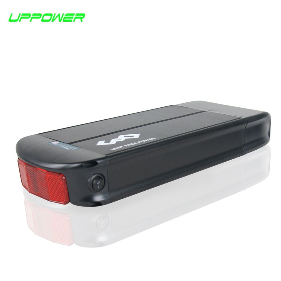 US EU No Tax WithTailight Reflective sheet 36V 20Ah Electric Bike Rack Battery 20.3Ah Lithium Battery for 250W 500W Motor