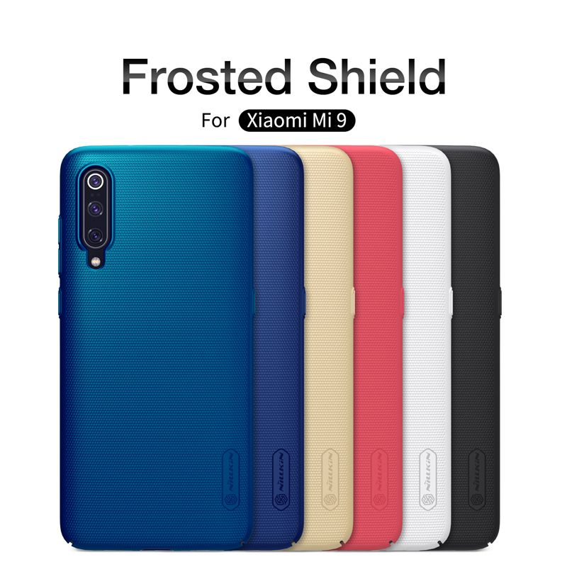 Xiaomi mi9 Case xiaomi mi 9 Explore case mi9 SE cover NILLKIN Super Frosted Shield Matte PC Hard Back Cover Case for Xiaomi mi9