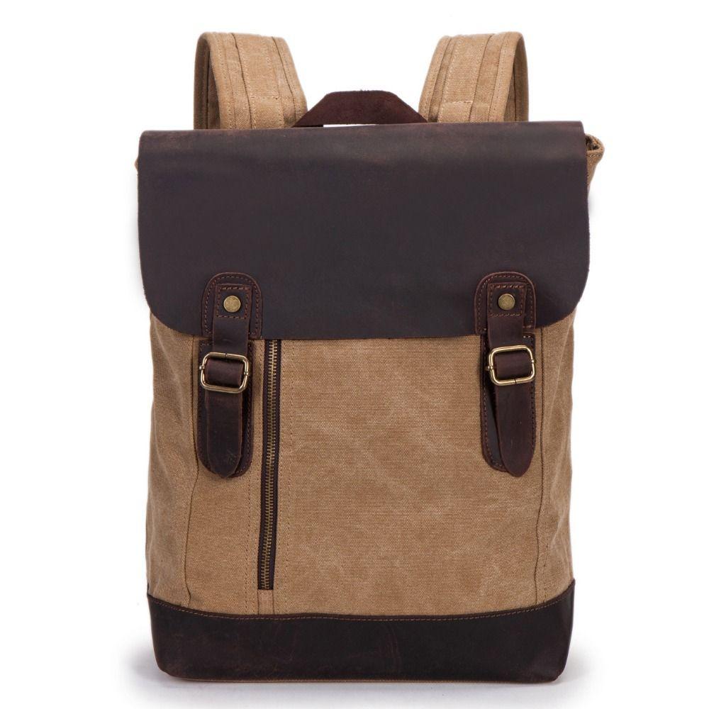 Amasie Rucksack Canvas School Bag Travel Backpacks for Teenage Male Notebook Bagpack Computer Knapsack Bags EGT0201