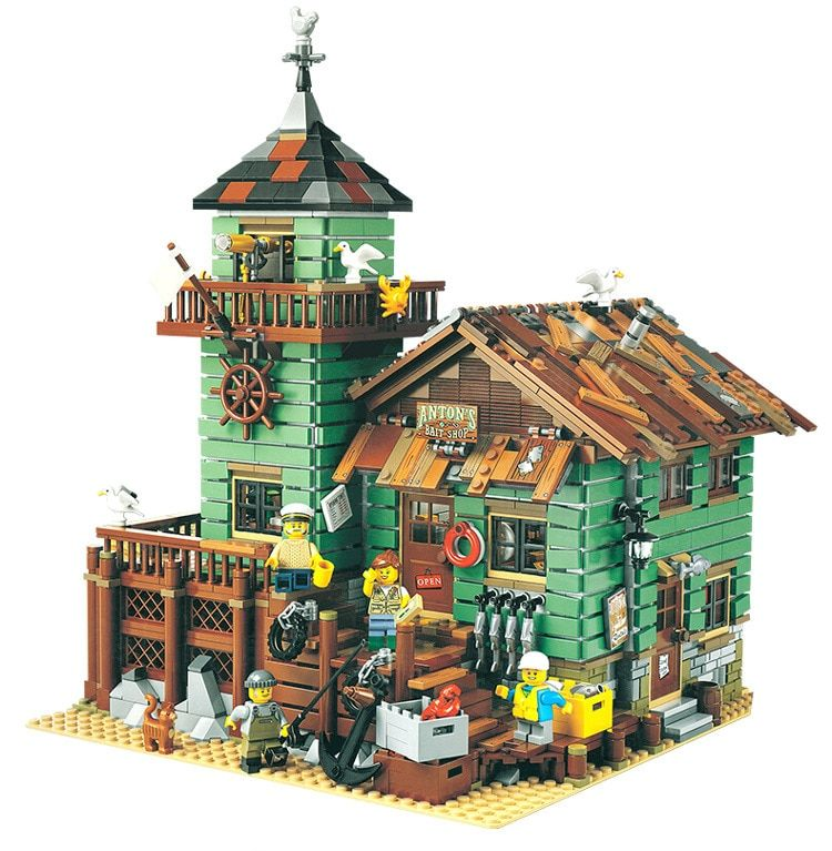 The Old Finishing Store 2049 Pcs Model building kits compatible with lego brick MOC Series Set Children Educational