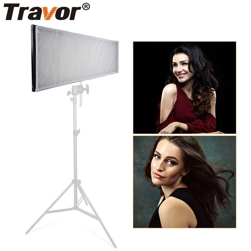 Travor FL-3090A Flexible led video licht/Beleuchtung Studio/576 Bi-Farbe LED video licht 3200 K- 5500 K 2,4G Fotografie beleuchtung
