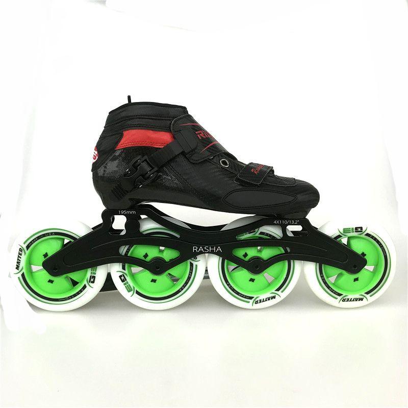 RASHA RACING SKATE Inline speed skate inline skating 4x100mm 4x110mm