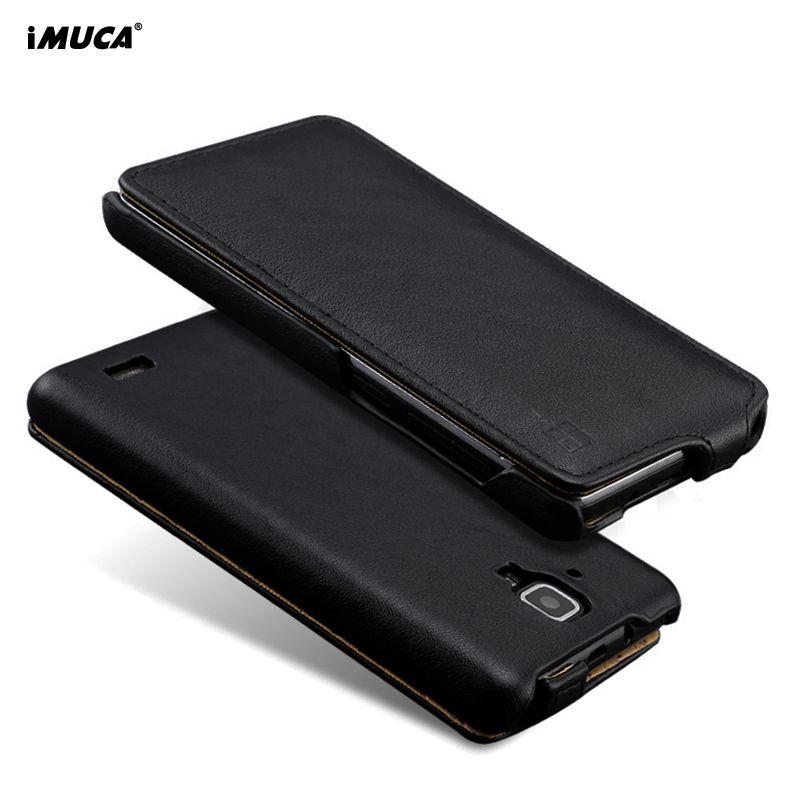Pour Lenovo A536 Un 536 Cas iMUCA De Luxe PU Portefeuille En Cuir téléphone Housse Flip Cas Pour Lenovo A536 A358T Couverture Cas accessoires