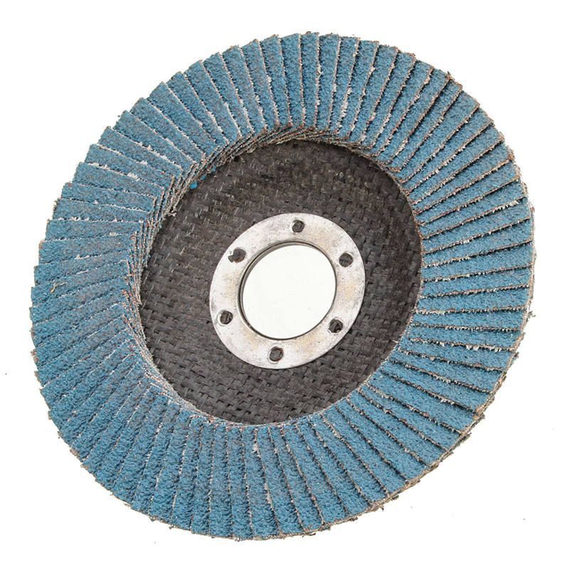 1pc 40/60/80/120 Grit Grinding Wheels Flap Discs 115mm 4.5