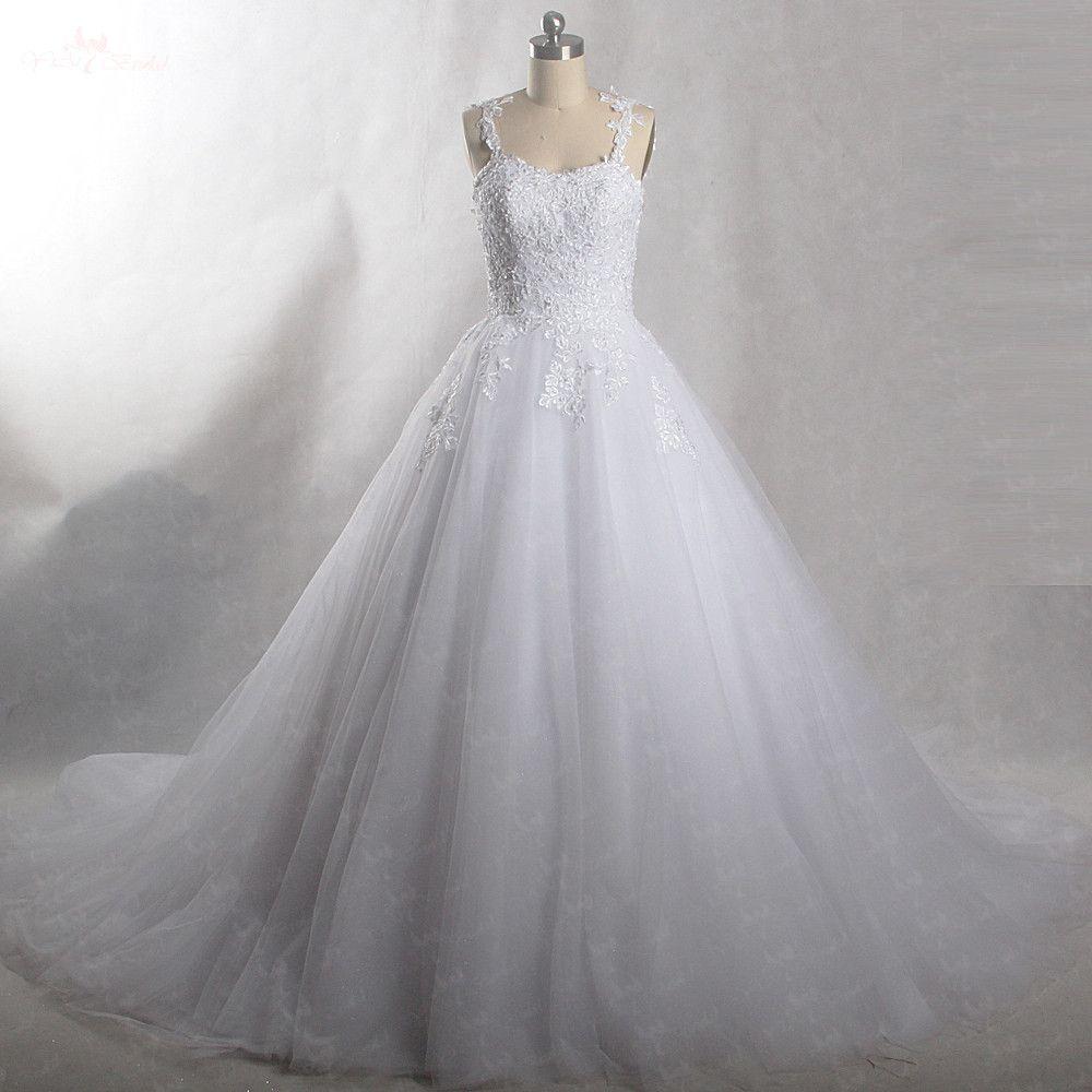 RSW427 Appliques Robe De Mariee Elegante