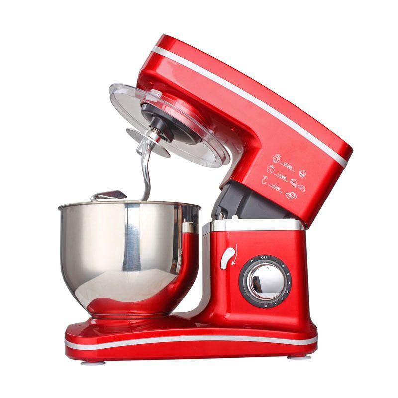1200 W 5.5L Edelstahl Schüssel 8-speed Küche Food Stand Mixer Creme Ei Schneebesen Mixer Kuchen Teig Brot mixer Maker Maschine