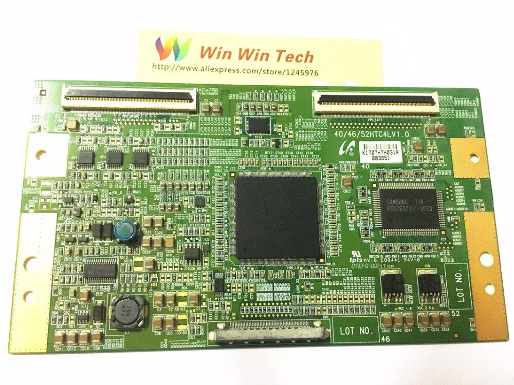 LCD Bord 40/46/52HTC4LV1. 0 platine für/LA40M81B LTA400HT-L01 3d-printer T-CON connect board 40/46/52HTC4LV1. 0