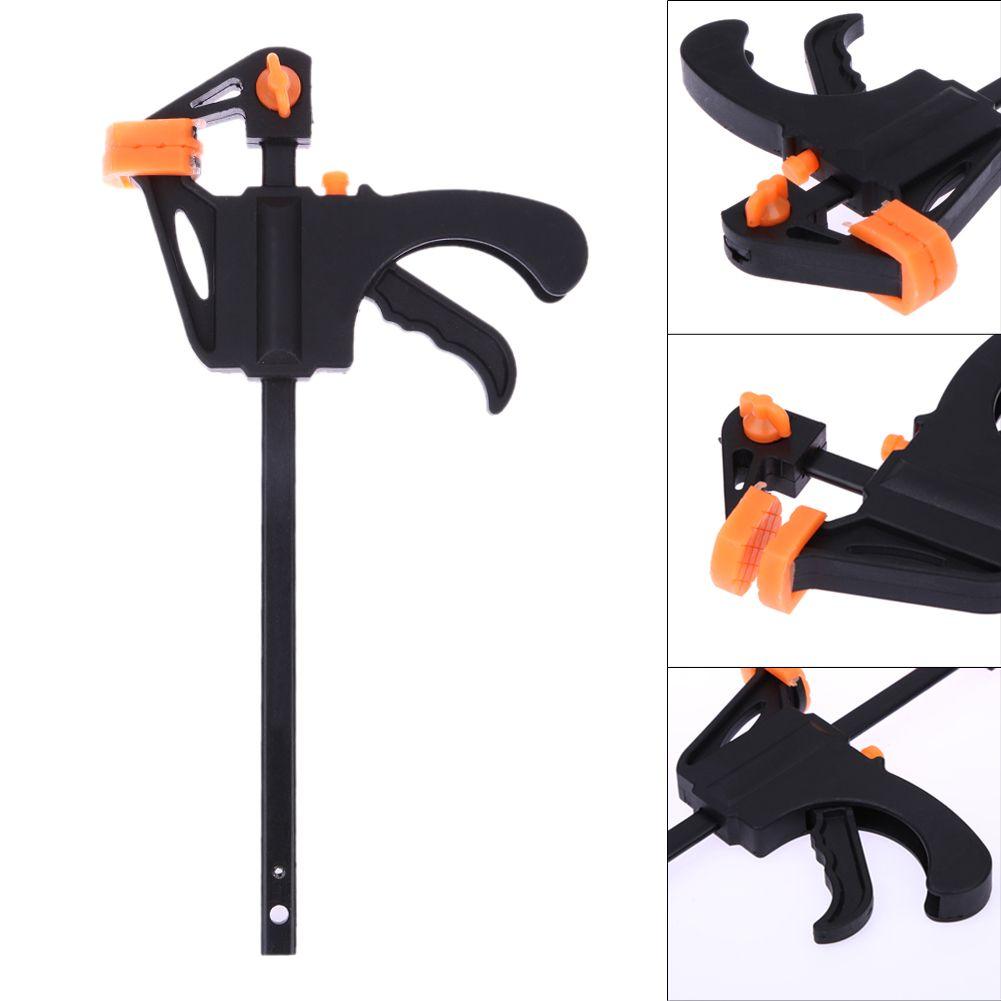4 Zoll Schnell Ratsche Freigabegeschwindigkeit Squeeze Holz Arbeitsarbeitslicht Bar F Clamp Clip Kit Treuer Gadget Werkzeug DIY Hand Schreiner Werkzeug