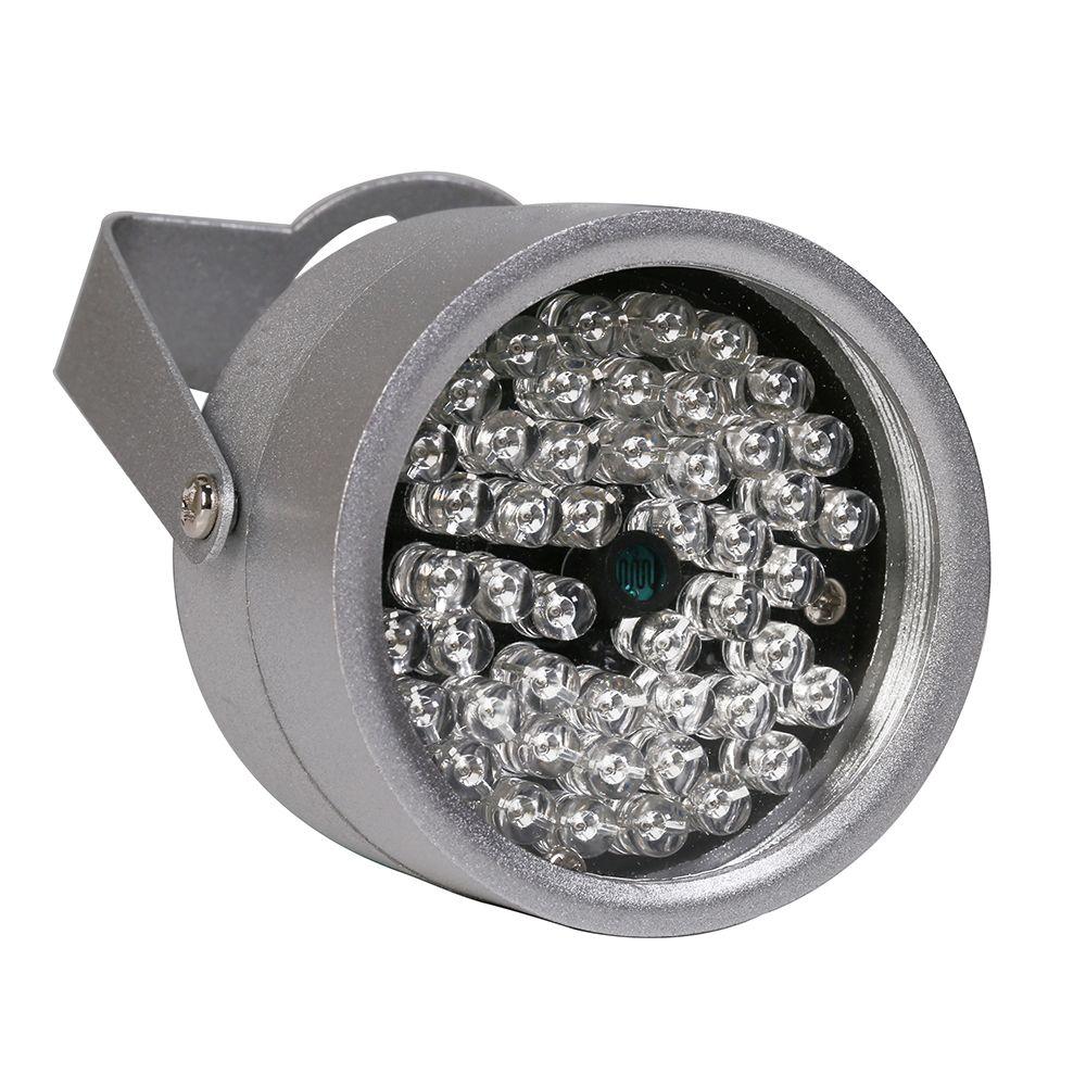 AZISHN 48 LED illuminator Light CCTV IR Infrared Night Vision outdoor metal with waterproof For Surveillance Camera cctv camera