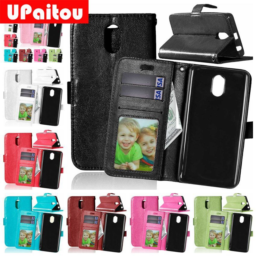 UPaitou For Lenovo Vibe P1m Crazy Horse PU Leather Case for Lenovo P1mc50 P1ma40 Dual Sim Flip Wallet Cover Case Card Holder