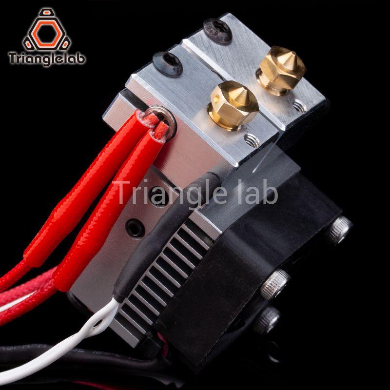 Trianglelab Multi Extrusion Dual Extrusion kühlung Chimäre + 2 IN 2 OUT für 3D drucker Für E3D hotend Upgrade die zubehör