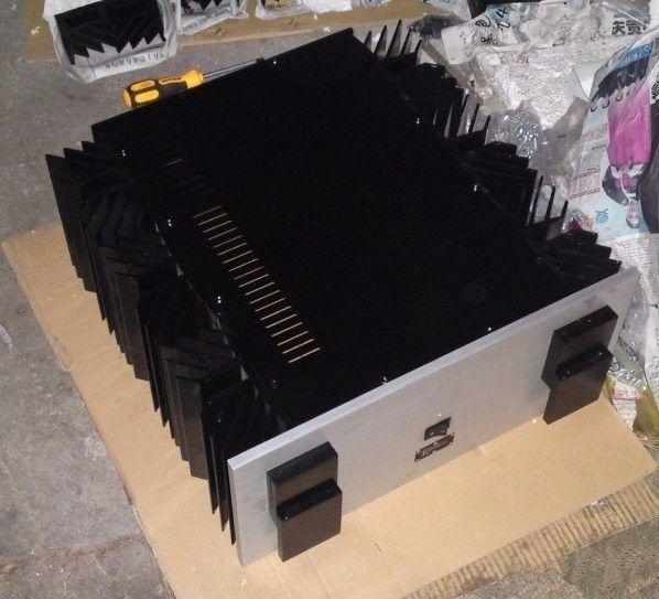 NEW KSA-250 KRELL appearance CNC Full aluminum amplifier chassis/case BOX DIY 480mm*215mm*520mm