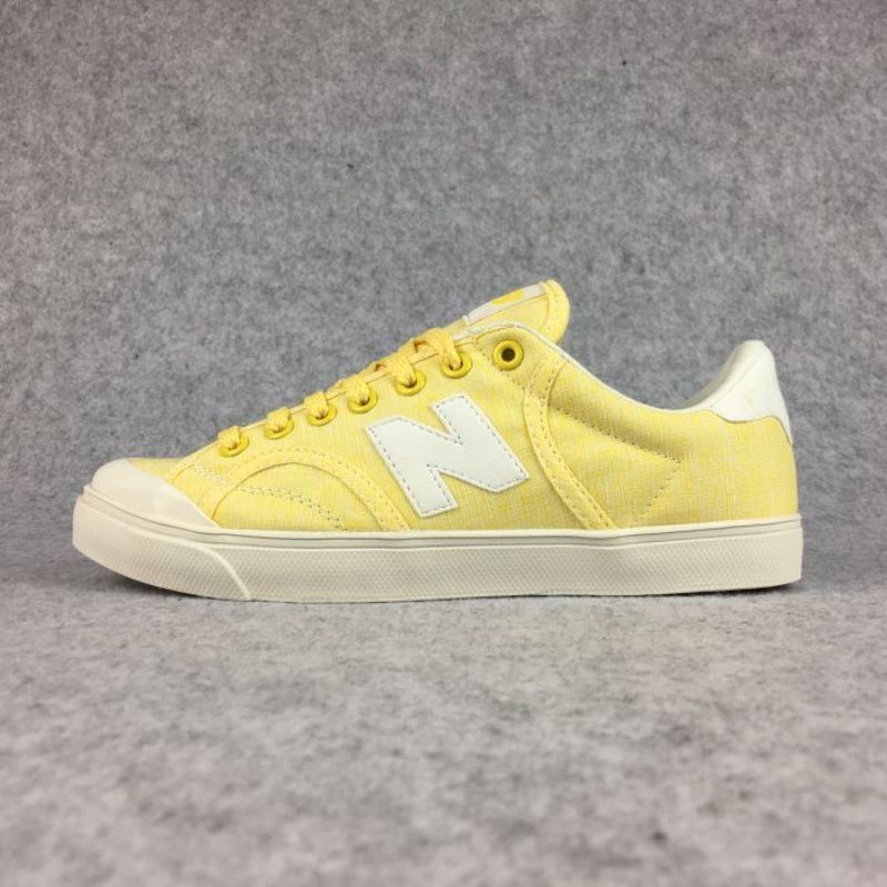 NEW BALANCE Pro-Court Canvas Shoes Couple sneakers Hot Sale Yellow Cushion Athletic Speed Cross Free Run Trainers 36-44