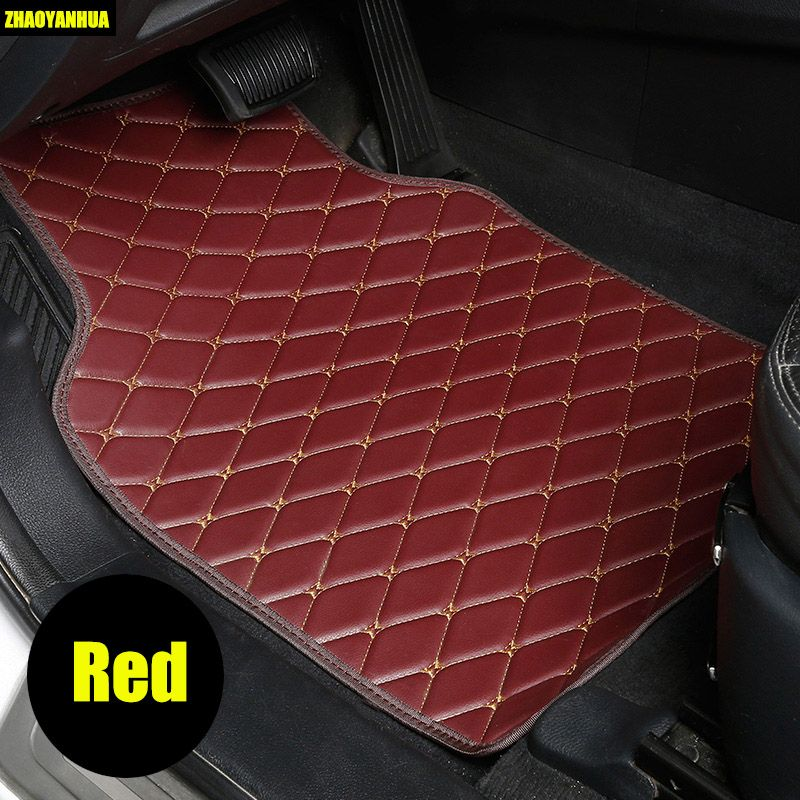 ZHAOYANHUA car floor mats for Mercedes Benz A C W204 W205 E W211 W212 W213 S class CLA GLC ML GLE GL rug car-styling liners