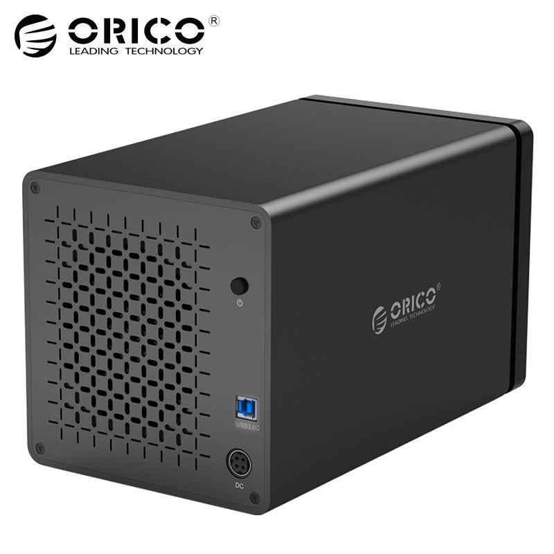 ORICO NS400U3 Werkzeug-freies 4-Bay 3,5 zoll 5 Gbps USB3.0 zu SATA3.0 Festplatte Dock UASP HDD Gehäuse Fall
