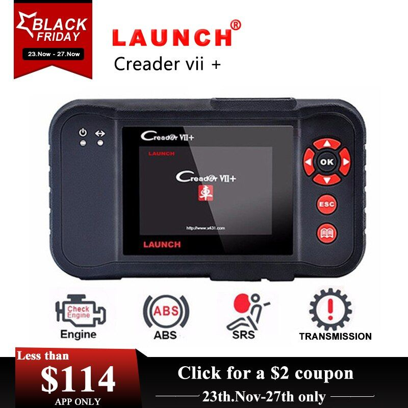 Launch Creader VII+ Launch CRP123 Auto Code Reade Launch X431 Creader VII Plus OBD2 Scanner OBDII Car Diagnostics Tool For BMW