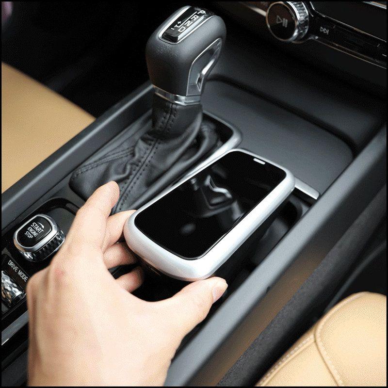 Auto Drahtlose Ladegerät Für Volvo Xc90 Xc60 S90 V90 C60 V60 2018 2019 Handy Lade Platte Auto Zubehör