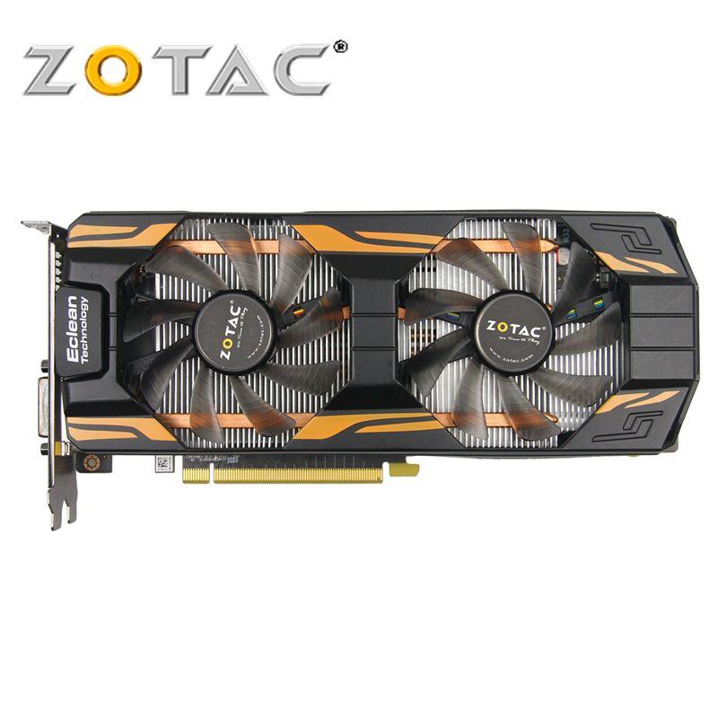 ZOTAC Video Card GeForce GTX760-2GD5 Thunderbolt HA 256Bit GDDR5 Graphics Cards for nVIDIA Map Original GTX 760 2GB Hdmi Dvi