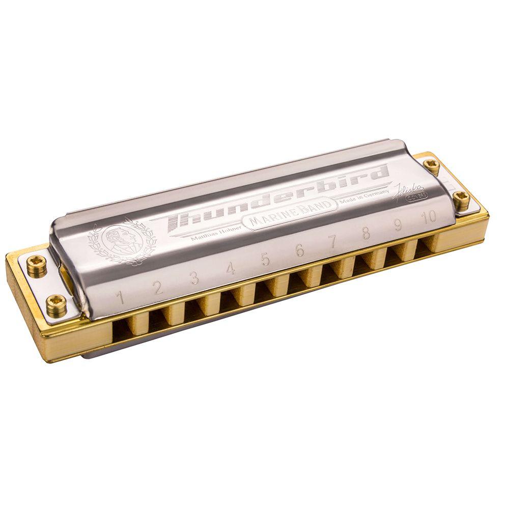 Hohner Thunderbird Harmonica Diatonic 10 Hole 20 Tones Blues Harp Mouth Organ Instrumentos Diatonic Key of C Musical Instruments