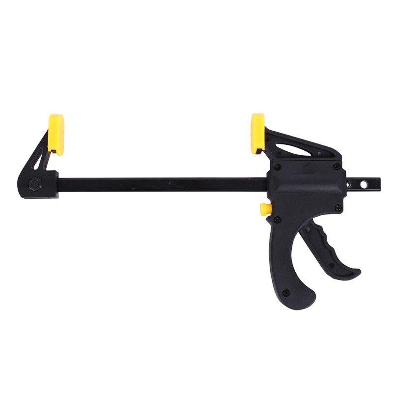 4 Zoll Schnell Ratsche Freigabegeschwindigkeit Squeeze Holzbearbeitung Clamp Clip Kit Treuer Gadget Werkzeug DIY Handarbeit Bar