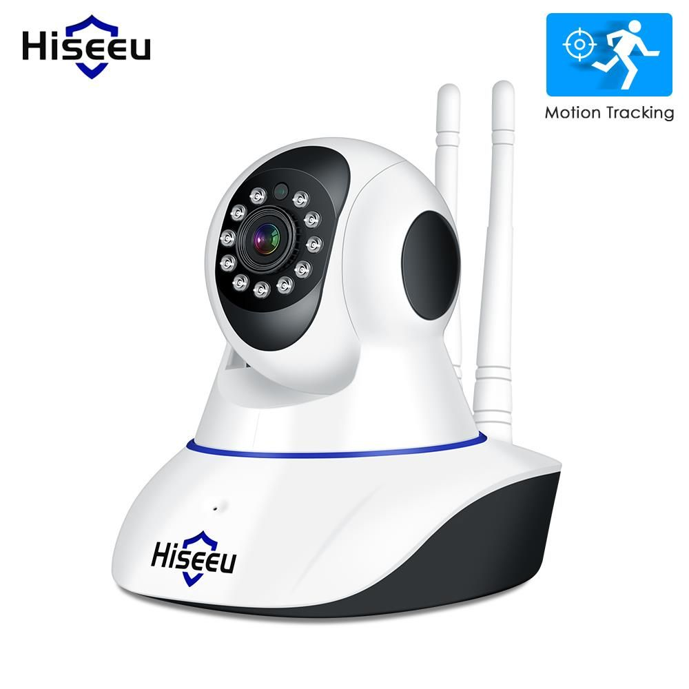 Hiseeu 1080P IP Camera Wireless Home Security Camera Surveillance Camera Wifi Night Vision CCTV Camera Baby Monitor Smart Track