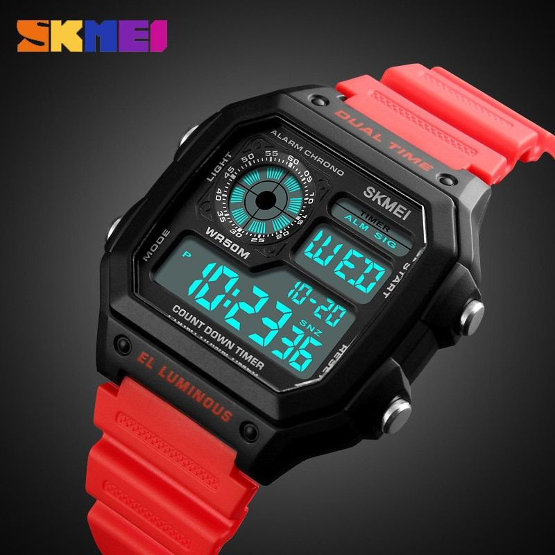 SKMEI Sports Watch Men Top Brand Luxury Famous LED Digital Watches Male Clocks Men's Watch Relojes Deportivos Herren Uhren