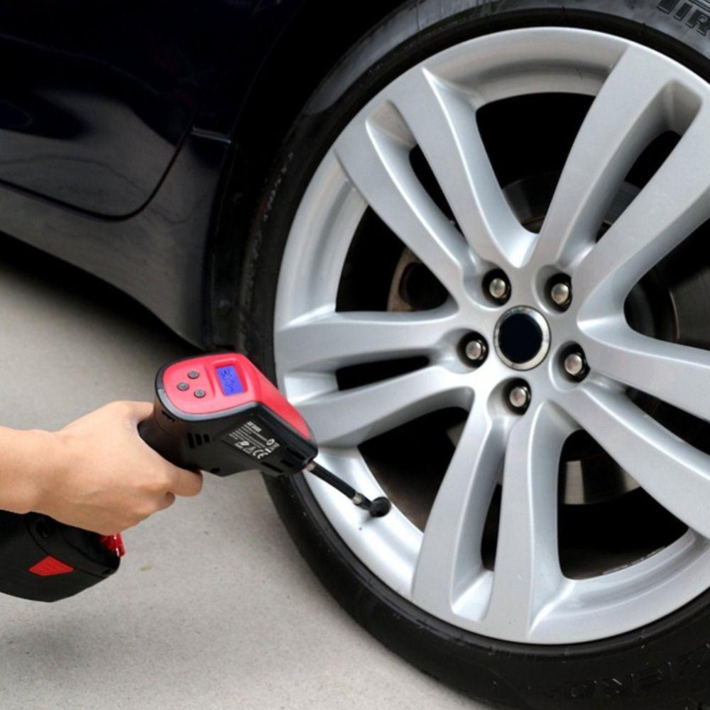 Digital Display Pump Inflator Electric Handheld Electric Vehicle Car Tire Inflatable Emergency Air Pressure Inflator Air Pump