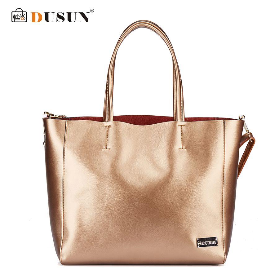 DUSUN Brand Genuine Leather Women Bags Casual Handbags Messenger Bag Large Shoulder bags Designer Vintage Bag Bolsas femininas