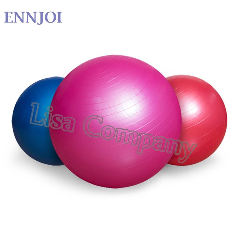 5 Colors 65CM PVC Utility Yoga Balls Pilates Sport Fitness Yoga Balls with a Pump for Fitness Appliance Exercise Home