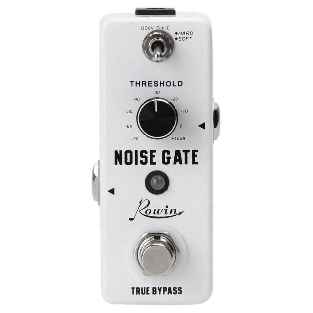 Rowin Guitar Noise Killer Noise Gate Suppressor Effect Pedal