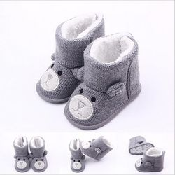TongYouYuan Winter Warm Baby Boy Shoes First Walkers Knitted Sweaters Boots Booty Crib Babe Girls Toddler Boy Shoe For 0-1 Year