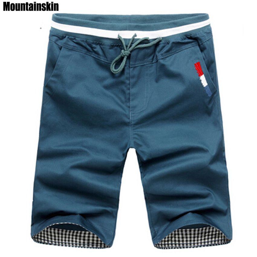 Mountainskin 2019 New Fashion Mens Cropped Sweatpants Cotton Jogger Men Korea Hip Hop Harem Outdoors Spring&Summer Shorts,EDA307