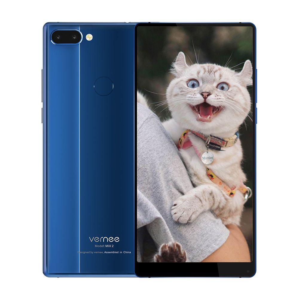 Vernee Mix 2 4g Smartphone 6,0 zoll Android 7.0 MTK6757CD Octa Core 4 gb RAM 64 gb ROM 13.0MP + 5.0MP Dual Hinten Kameras Fingerprint