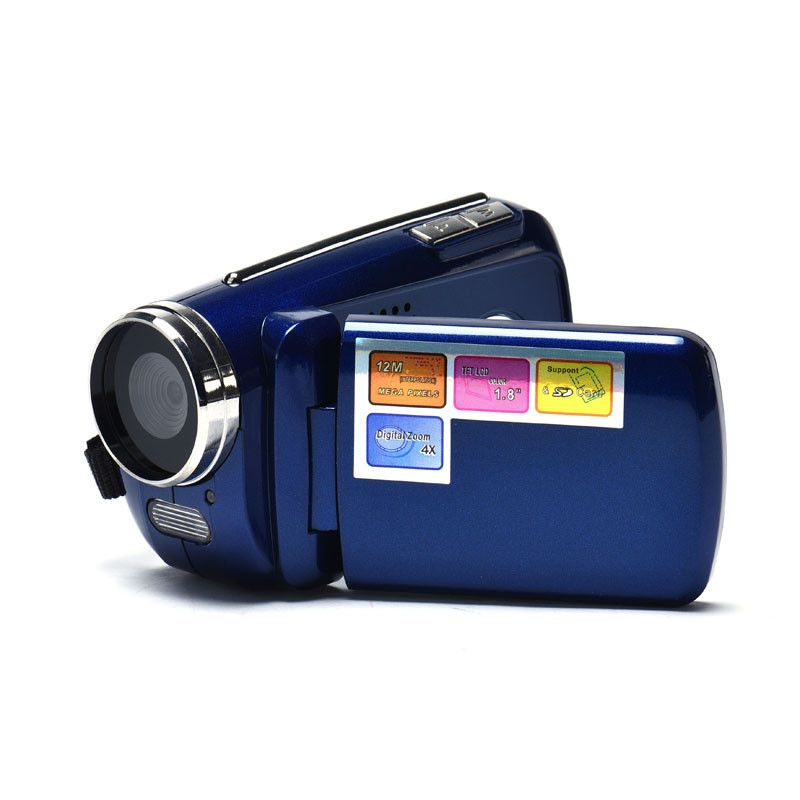 Binmer 1.8 Inch TFT 4X Digital Zoom Mini Video Camera Blue tdcx1016 drop shipping