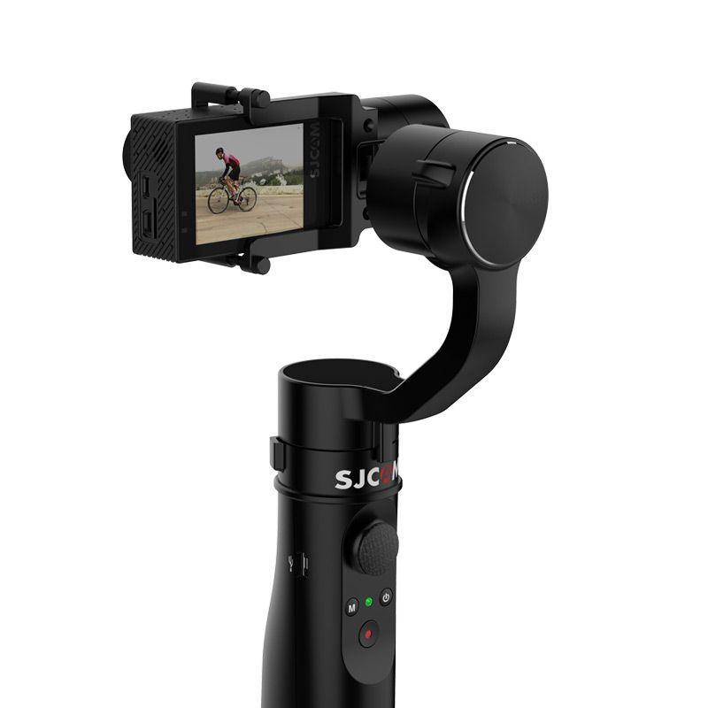 Weihnachtsgeschenk SJCAM 3-Axit Gimbal intelligente Steuerung einbeinstativ stativ/saugnapf für SJ6 SERIE SJ7 star Sport Action Kamera