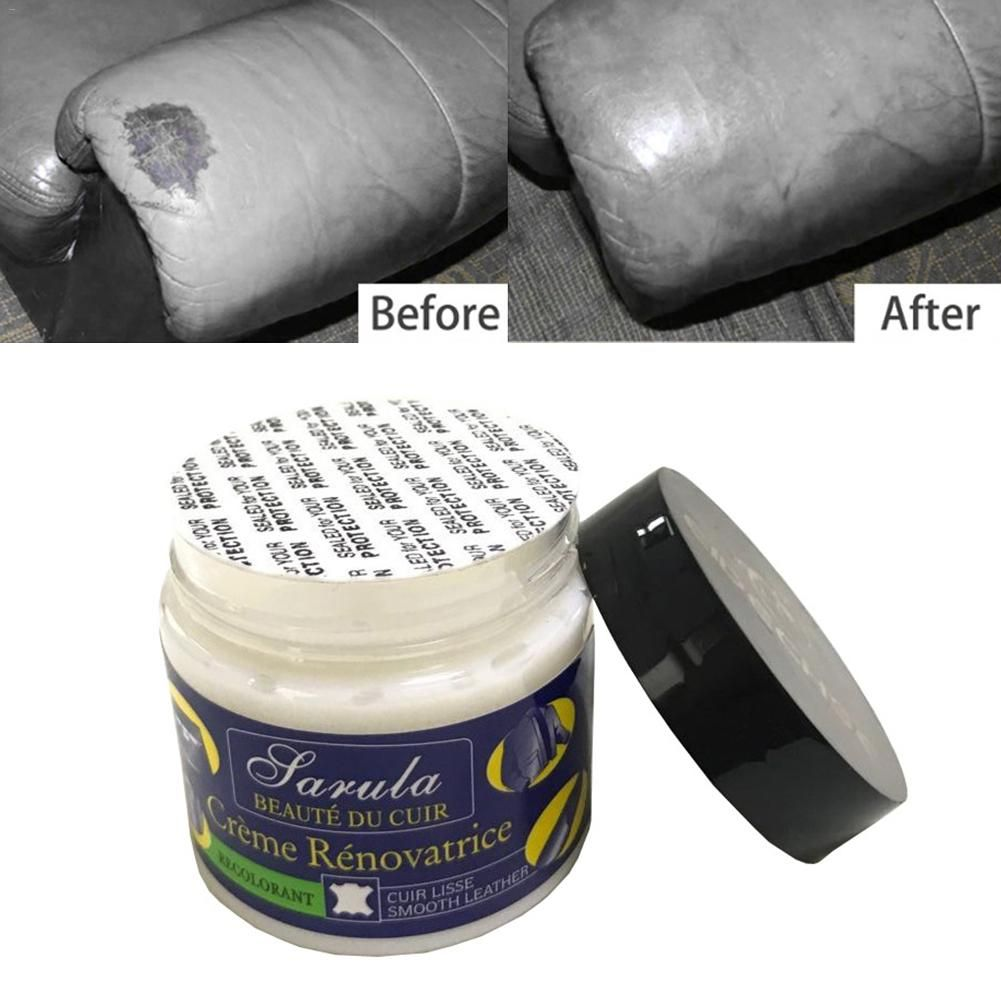 Car Seat Leather Restoration Vinyl Repair Kit Auto Car Seat Sofa Leather Holes Scratch Cracks Rips Liquid Leather Repair Cream