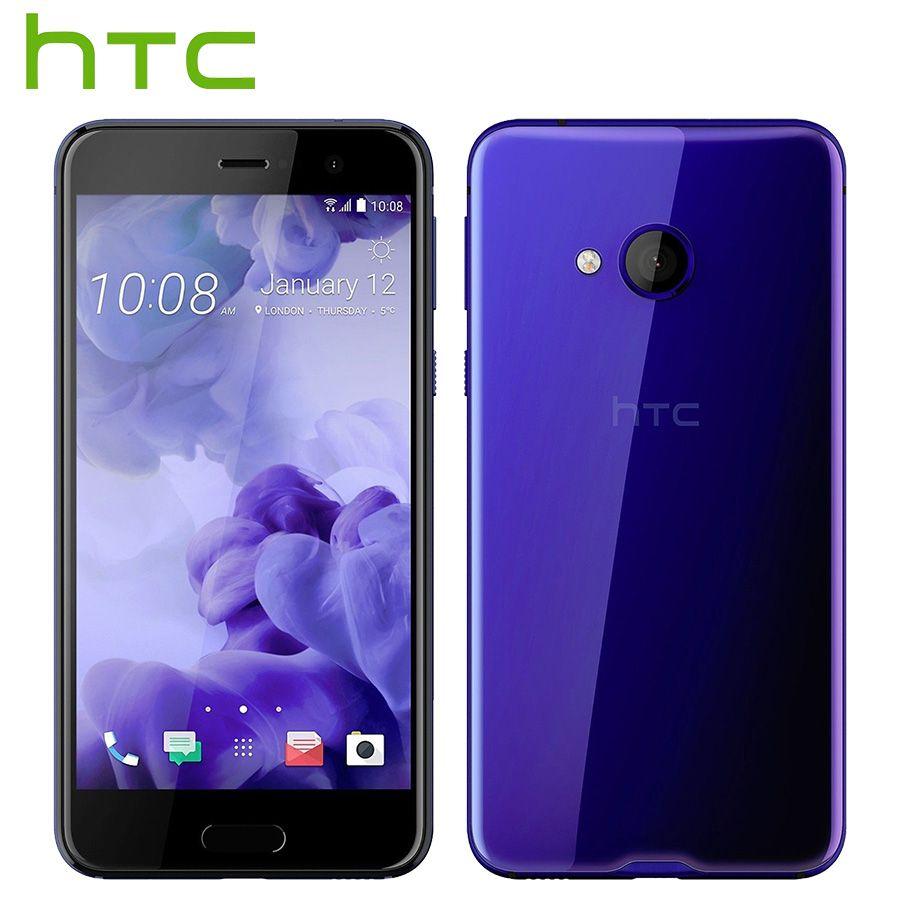 Tout Nouveau HTC U Play 4g LTE Téléphone Portable 3 gb RAM 32 gb ROM Octa Core 5.2 pouce FHD 1080 p 16MP D'empreintes Digitales Android Téléphone Intelligent