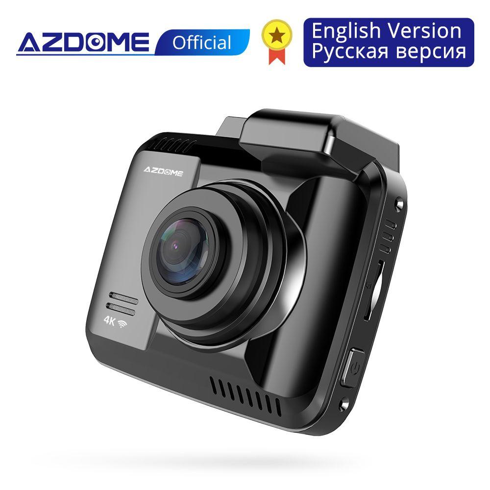 AZDOME GS63H Auto Dash Cam 4 K 2160 P Dash Kamera Dual Objektiv Gebaut in GPS DVR Recorder Dashcam Mit wiFi G-Sensor Loop Aufnahme