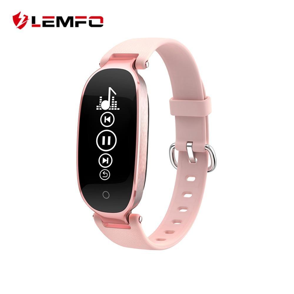 S3 Fashion Smart Band Bracelet Girl Women Heart Rate Monitor Wrist Smart Wristband Lady Female Fitness Tracker Wristband