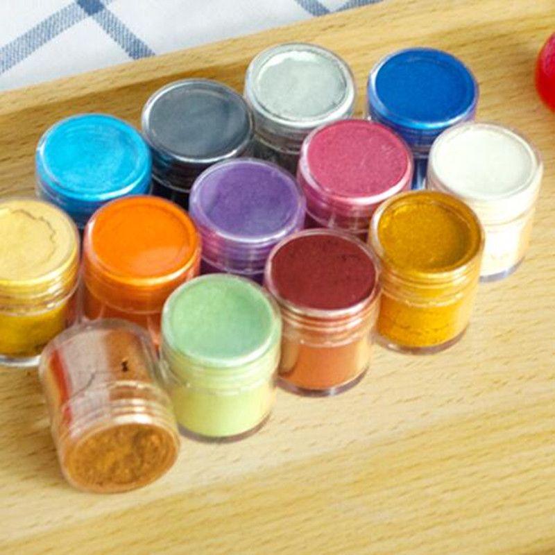 Fondant De Couleur De Pigment Colorant Alimentaire facultatif Coloré Poudre Macaron Colorant Alimentaire Naturel Collation Chocolat Gâteau Outils De Cuisson