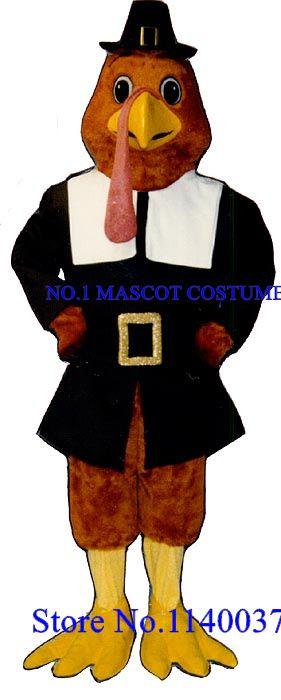 Mascota de anime cosplay día de acción de gracias turquía tom traje de la mascota de dibujos animados adultos mascotte fancy dress traje kits sw2102