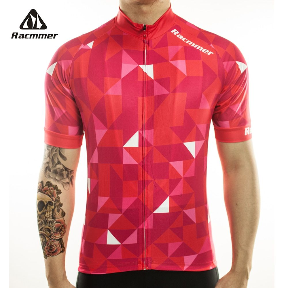 Racmmer 2018 Cycling Jersey Mtb Bicycle Clothing Bike Wear Clothes Short Maillot Roupa Ropa De Ciclismo <font><b>Hombre</b></font> Verano #DX-10
